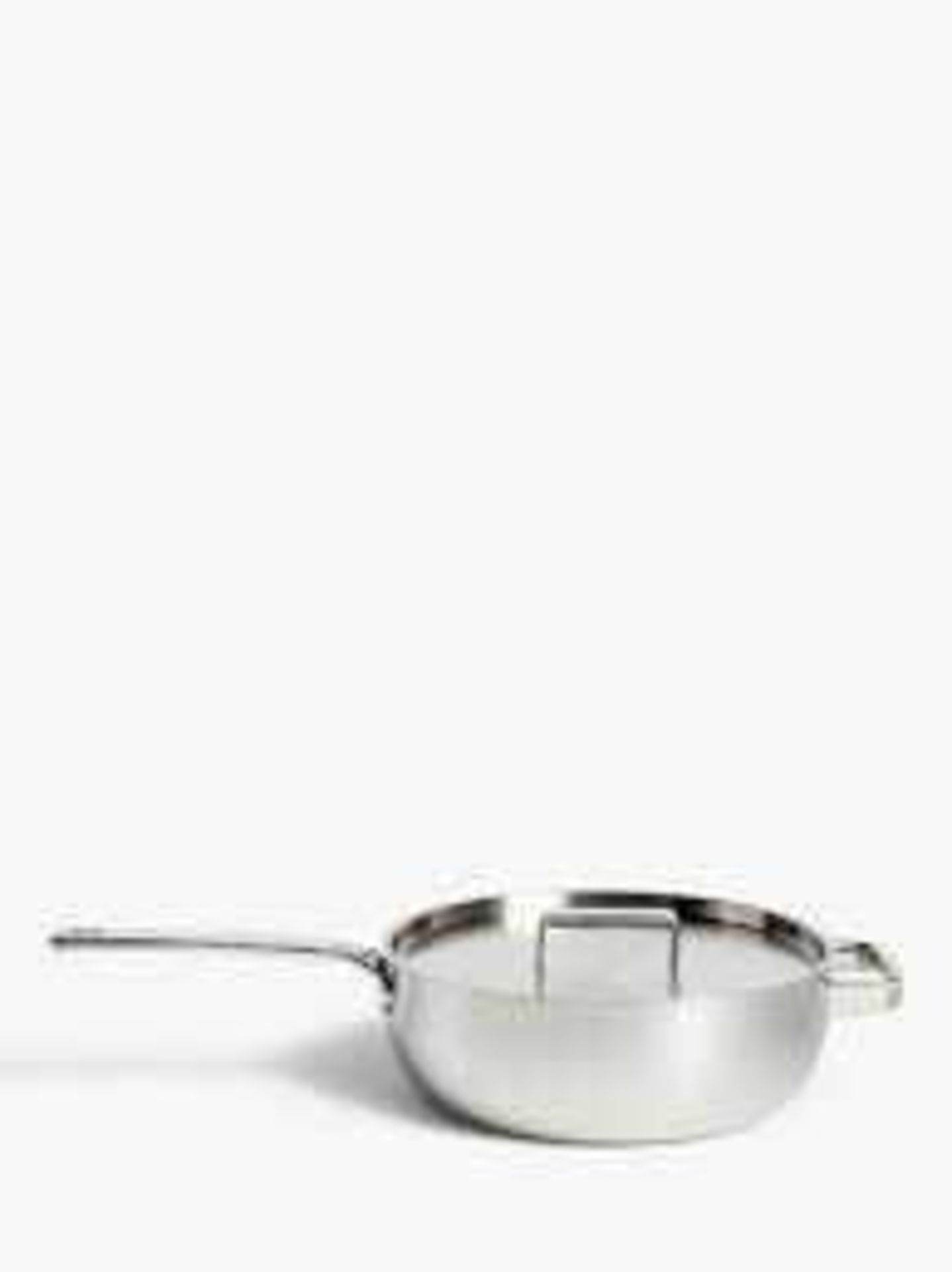 RRP £90 Boxed John Lewis 5 Ply Thermacore 26Cm Chef's Pan With Lid