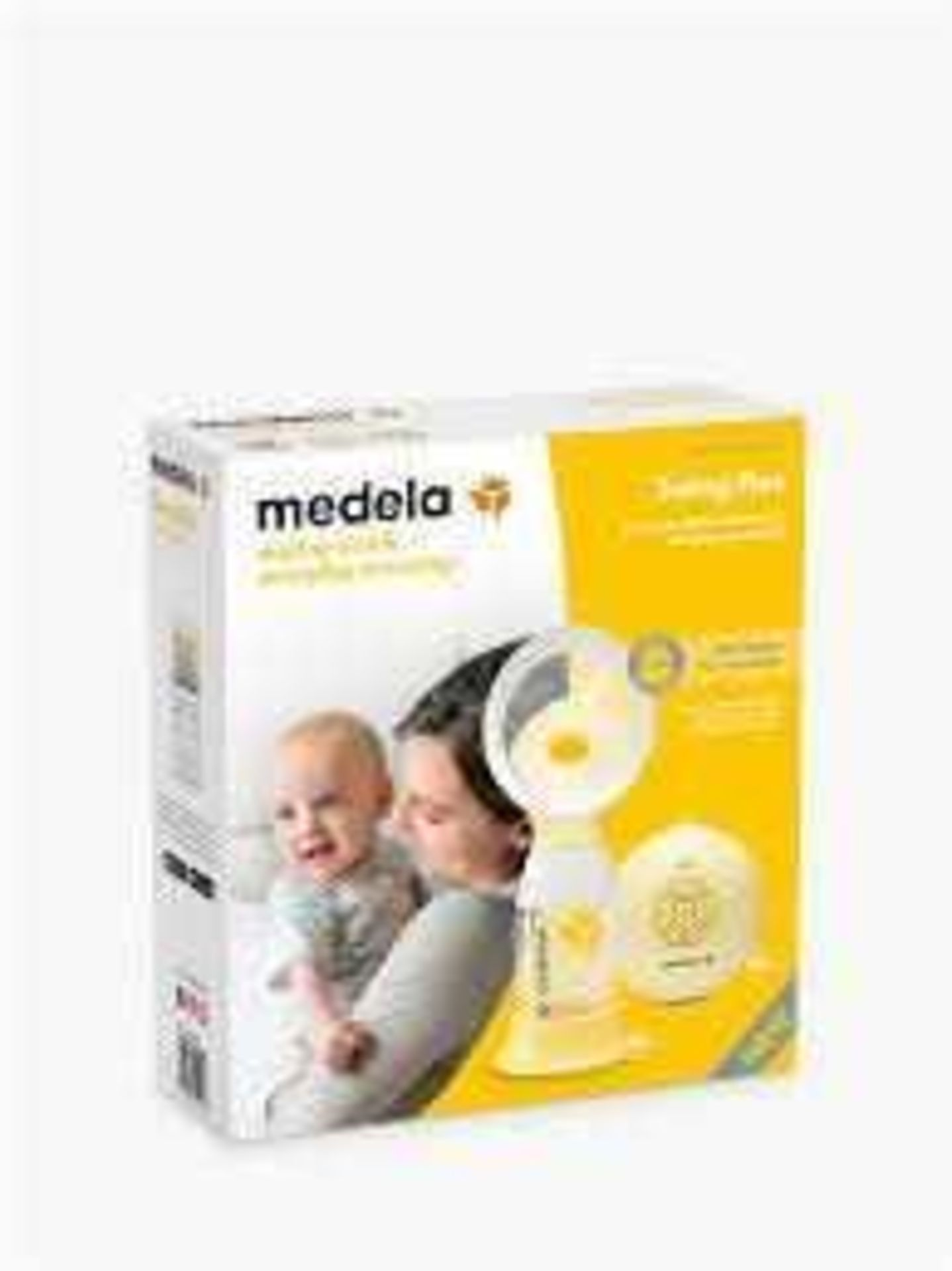 RRP £140 Boxed Medela Swing Flex Electric 2-Phase Breast Pump