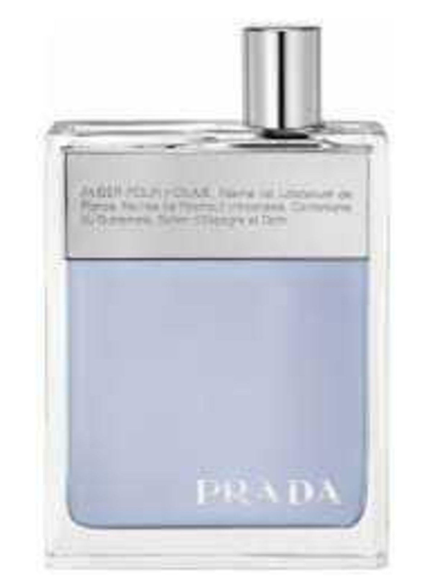 RRP £75 Brand New Boxed Full 100Ml Tester Bottle Of Prada Amber For Him Edt Spray