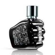 RRP £70 Brand New Boxed Diesel Only The Brave Tattoo 75 Ml Edt Spray