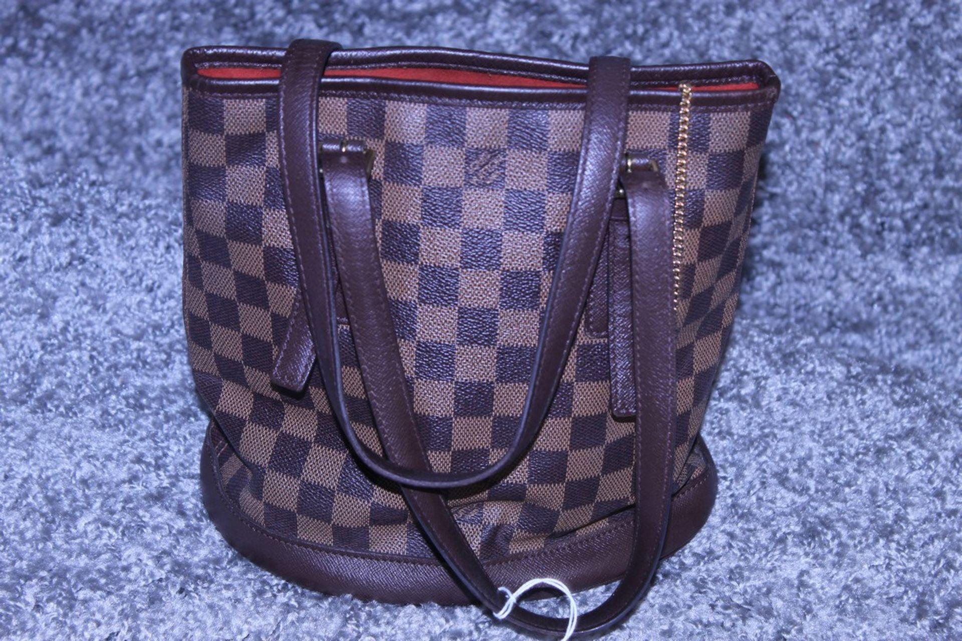 RRP £1,200 Louis Vuitton Marais Handbag, Brown Coated Canvas 23X24X16Cm (Production Code Sp0013) - Image 2 of 3