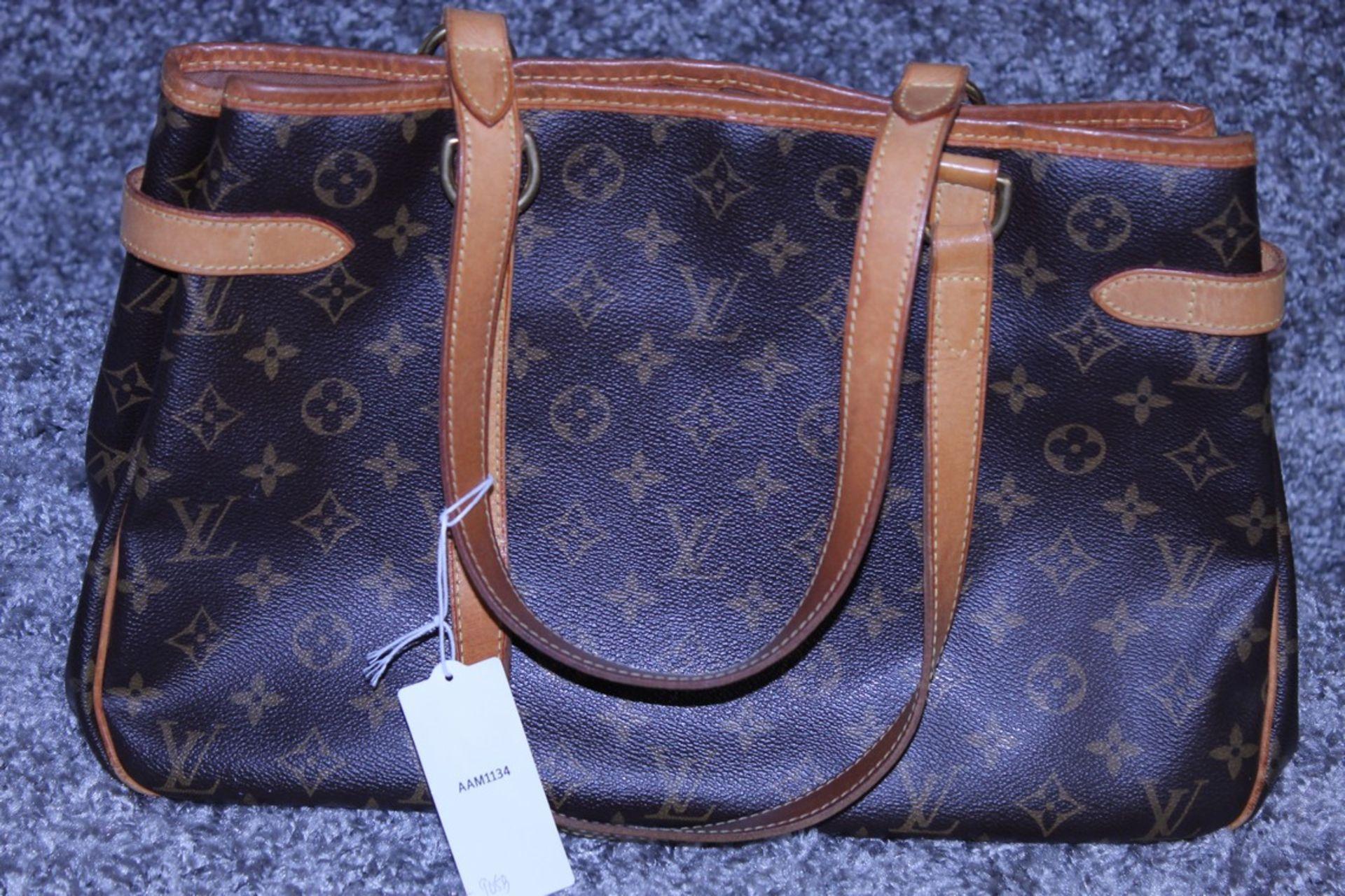 RRP £1,200 Louis Vuitton Batignolles Horizontal Shoulder Bag, Brown Monogram Canvas, Vachetta - Image 2 of 3