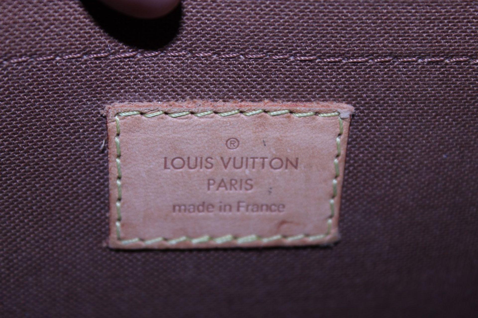 RRP £1,200 Louis Vuitton Solonge Shoulder Bag, Brown Monogram Coated Canvas, Vachetta Handles, ( - Image 3 of 3