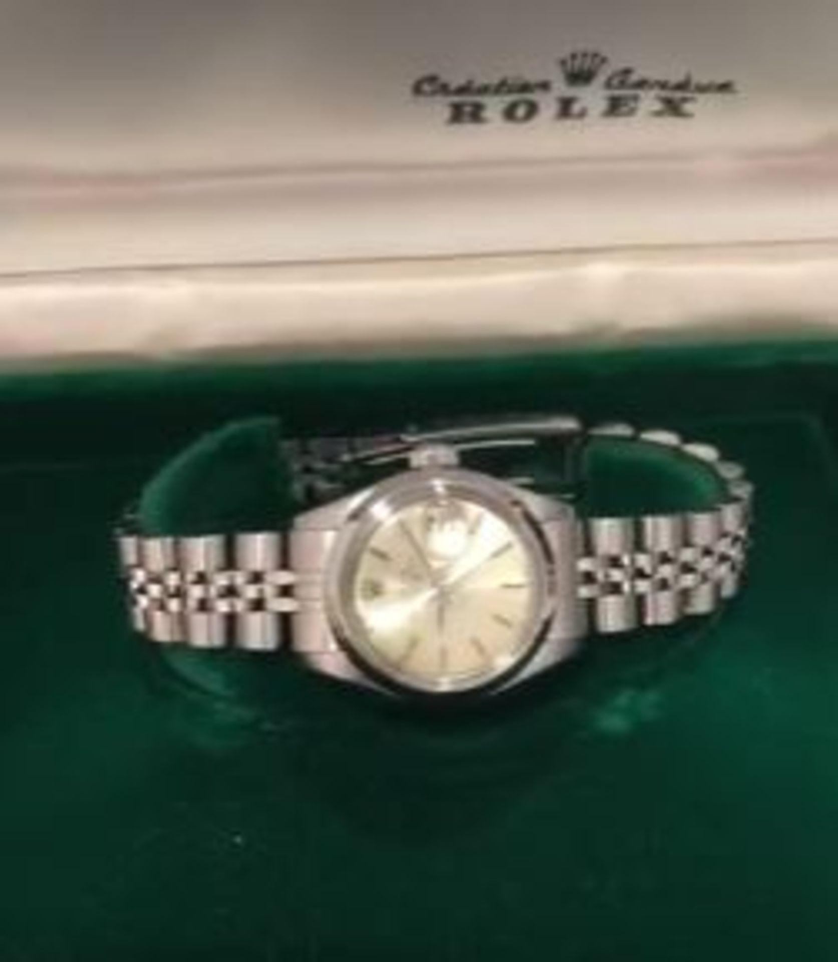 RRP £7,500 Rolex Ladies Date Just Stainless Steel Case & Jubilee Bracelet. Full Bracelet Original