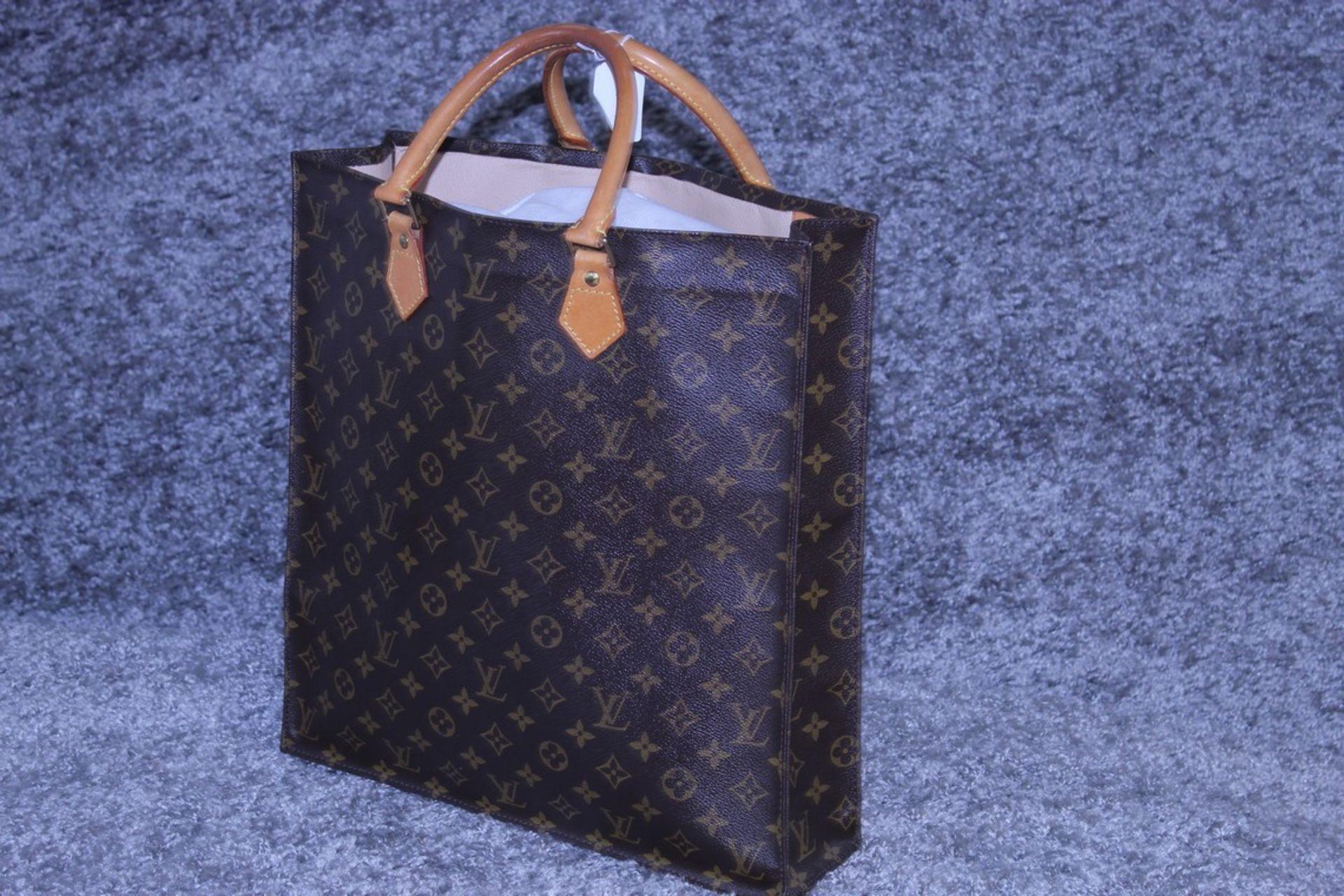 RRP £1,950 Louis Vuitton Sac Plat Shoulder Bag, Brown Coated Monogram Canvas 35X37X5Cm, Condition - Image 3 of 3