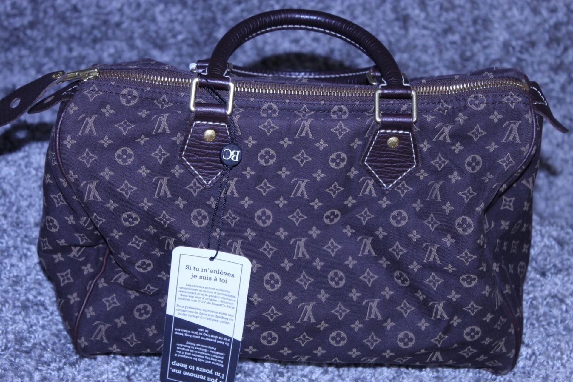 RRP £1,100 Louis Vuitton Speedy 30 Handbag, Dark Brown Canvas Monogram/Idylle Canvas, Dark Brown - Image 2 of 3