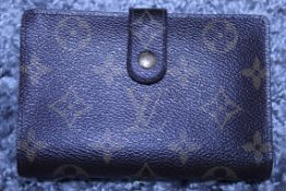 RRP £600 Louis Vuitton Sarah 16 Wallet, Brown Monogram Coated Canvas, 19X10X1.5Cm Condition Rating