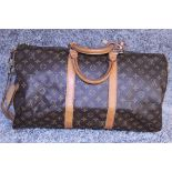 RRP £1,440.00 Travel Light, But Always In Style. Since 1930, Vuitton'S Keepall Duffle Has