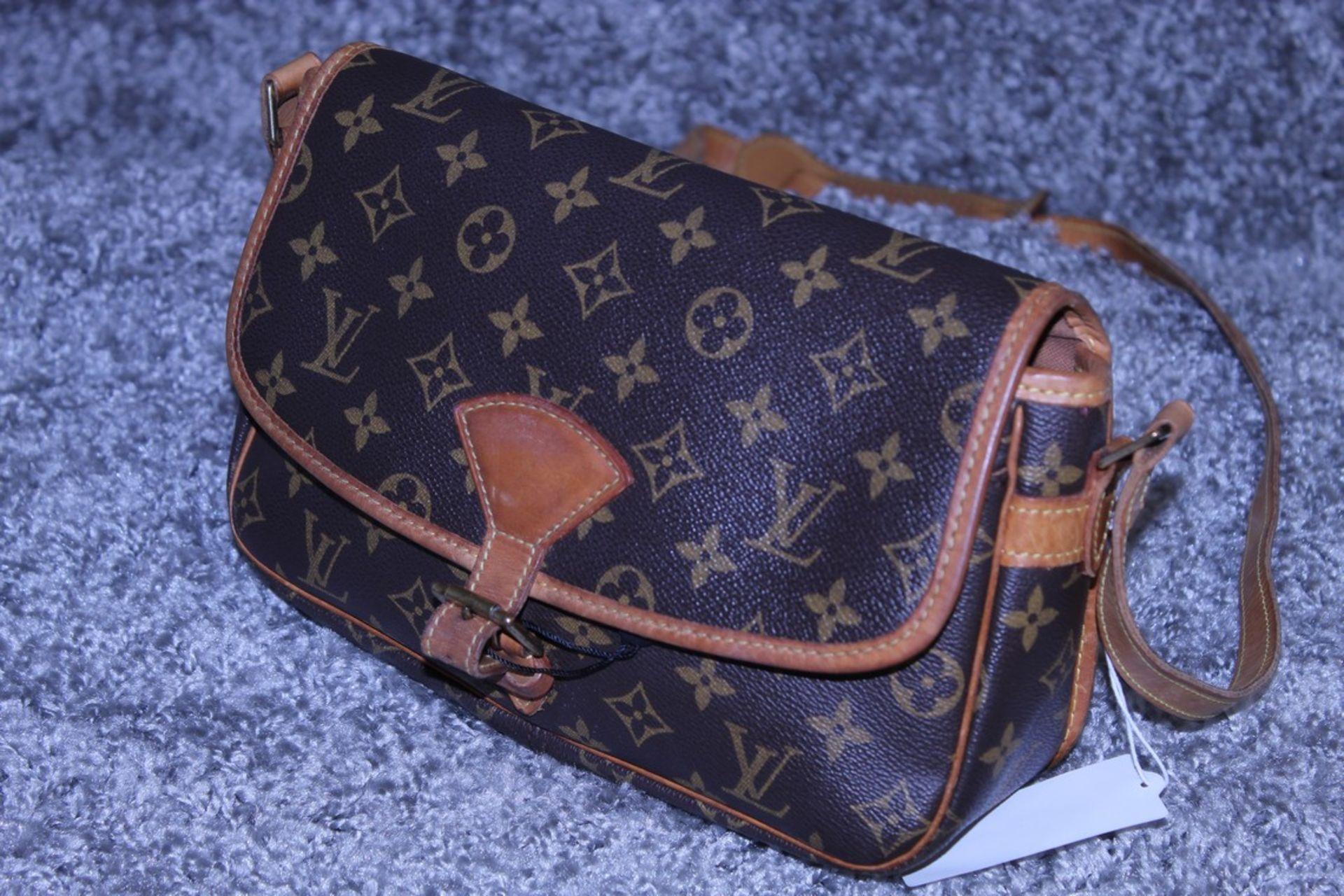 RRP £1,200 Louis Vuitton Sologne Shoulder Bag, Brown Monogram Canvas, 26X16X8Cm, (Production Code - Image 3 of 3