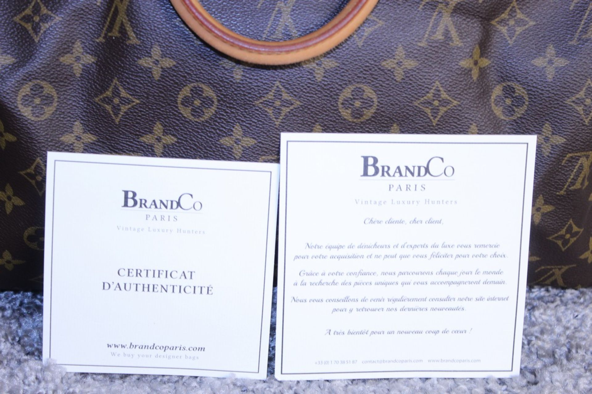 RRP £1,160.00 Made From Classic Monogram Canvas, The Speedy 40 Is A Stylish Handbag For Both - Image 6 of 6