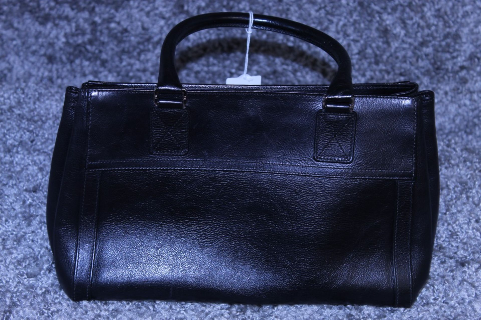 RRP £1300 Dior Interlocking D Belt Handbag In Black Calf Leather With Black Leather Handles. ( - Image 2 of 4