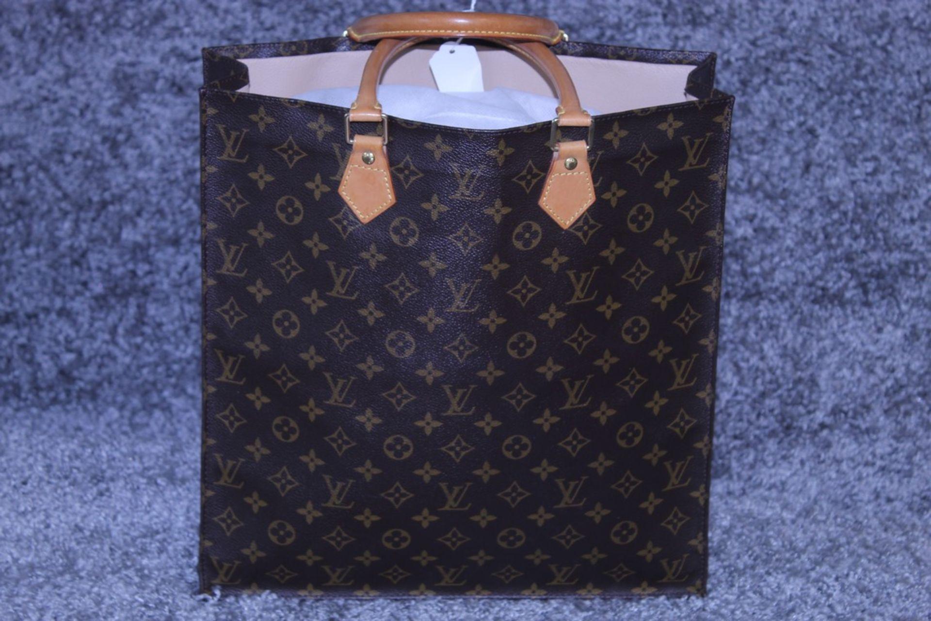 RRP £1,950 Louis Vuitton Sac Plat Shoulder Bag, Brown Coated Monogram Canvas 35X37X5Cm, Condition - Image 2 of 3