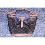 RRP £1870.00 Louis Vuitton Reinterprets The House'S Iconic Montsouris Backpack From 1994 In Monogram