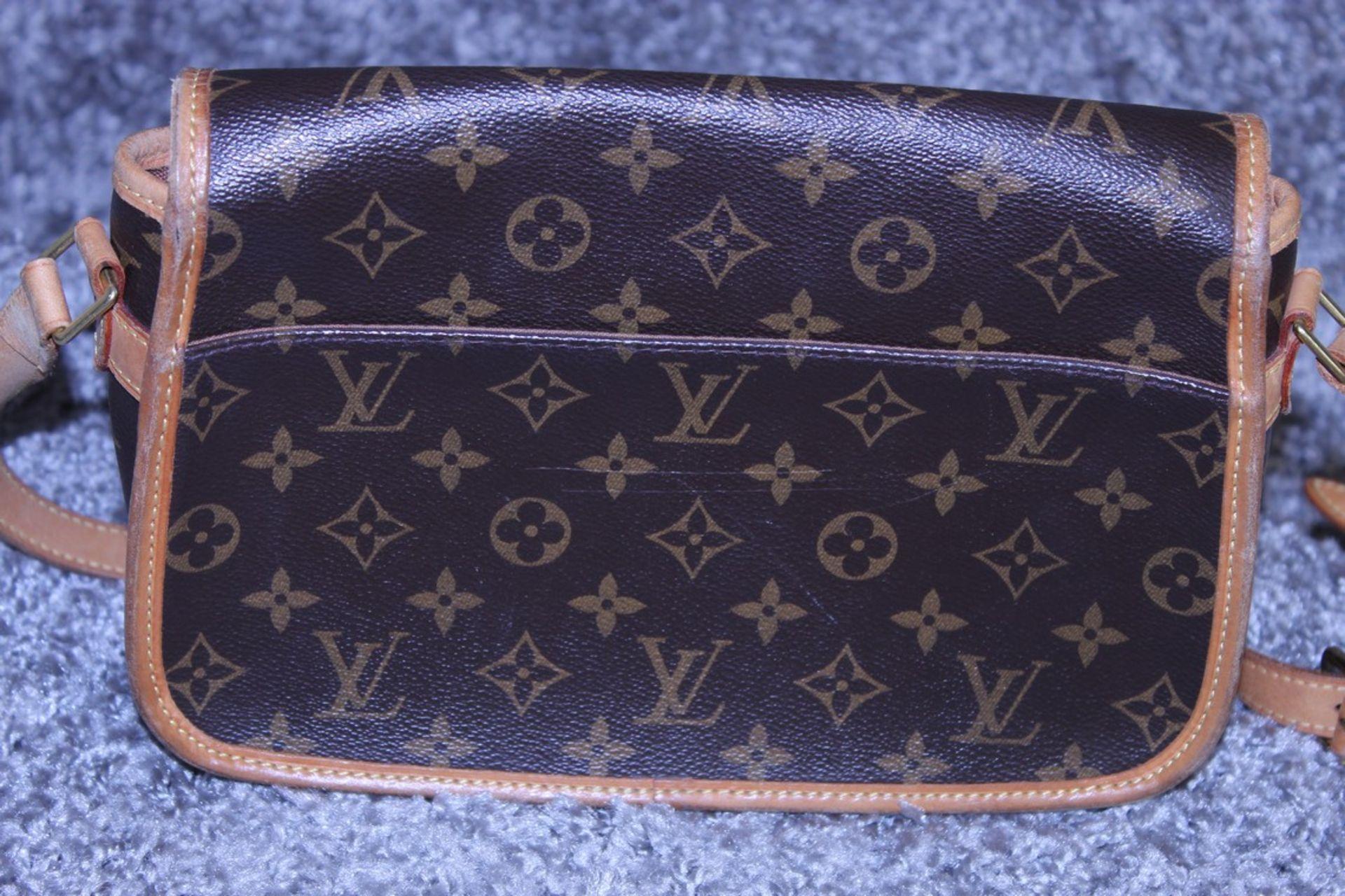 RRP £1,200 Louis Vuitton Solonge Shoulder Bag, Brown Monogram Coated Canvas, Vachetta Handles, ( - Image 2 of 3