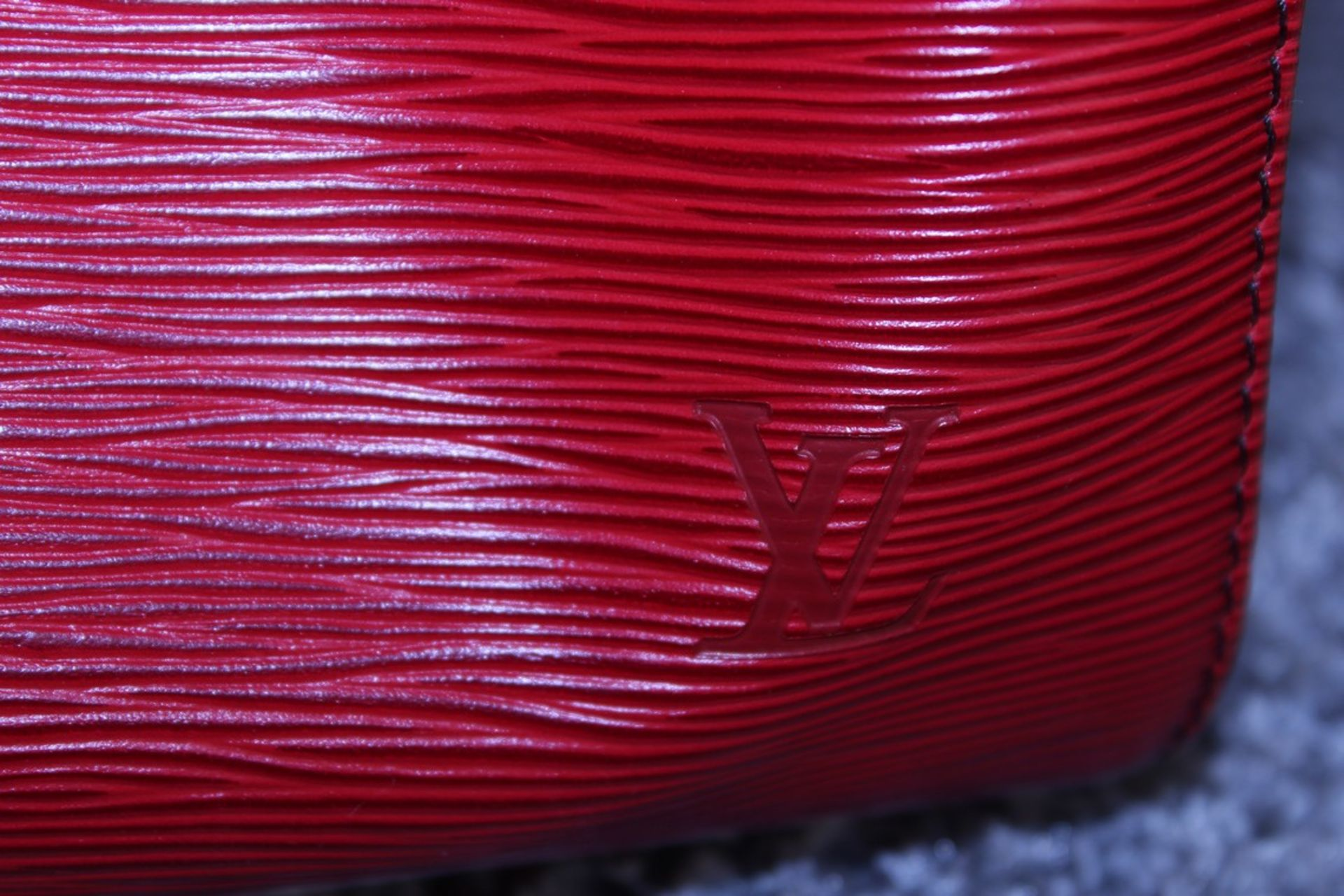RRP £1,400 Louis Vuitton Keepall 45 Travel Bag, Red Calf Red Epi Leather, 48X28X20Cm, (Production - Image 3 of 3