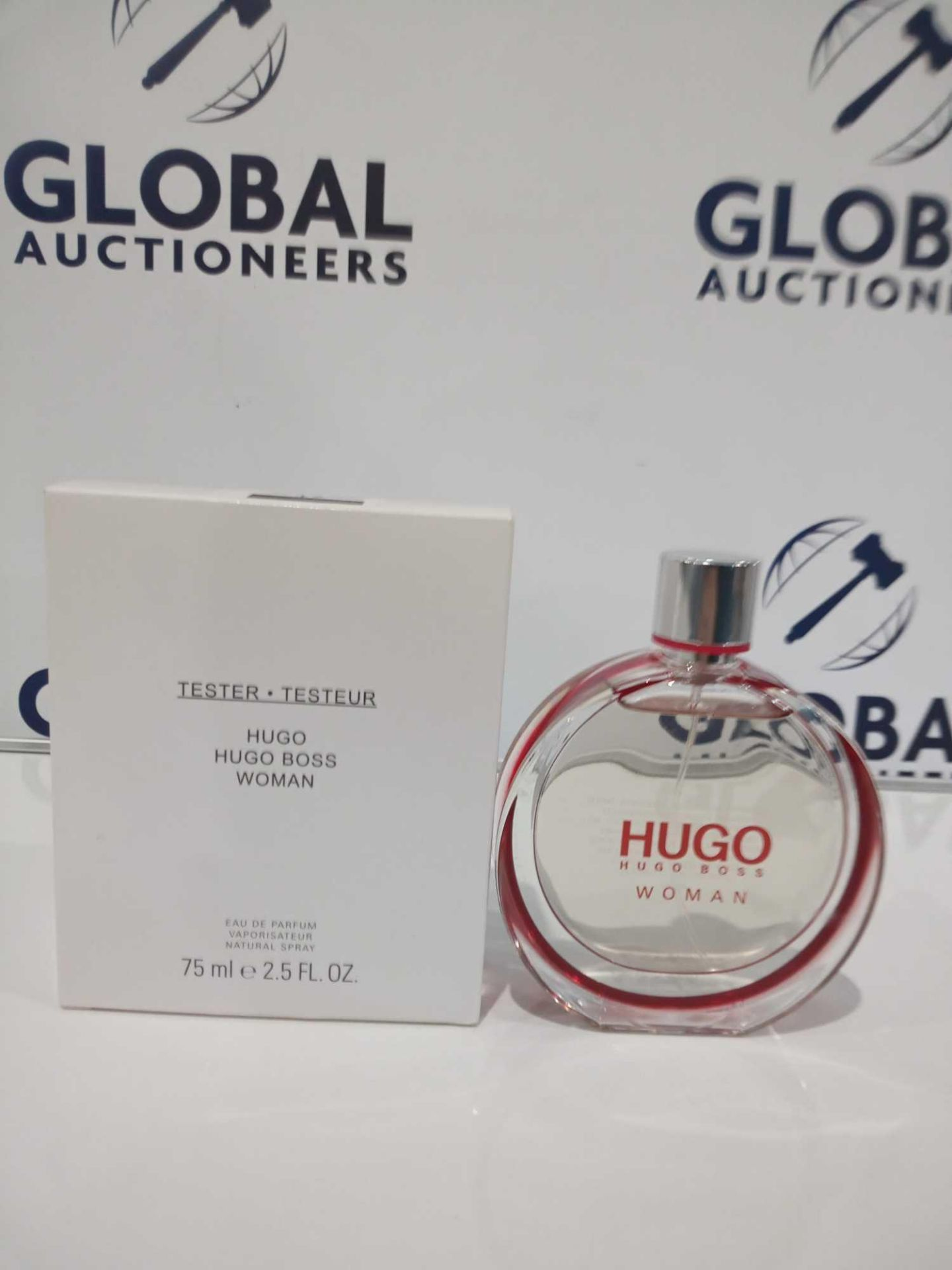 RRP £35 Boxed Brand New Full Tester Bottle Of Hugo Boss Woman 75Ml Eau De Parfum