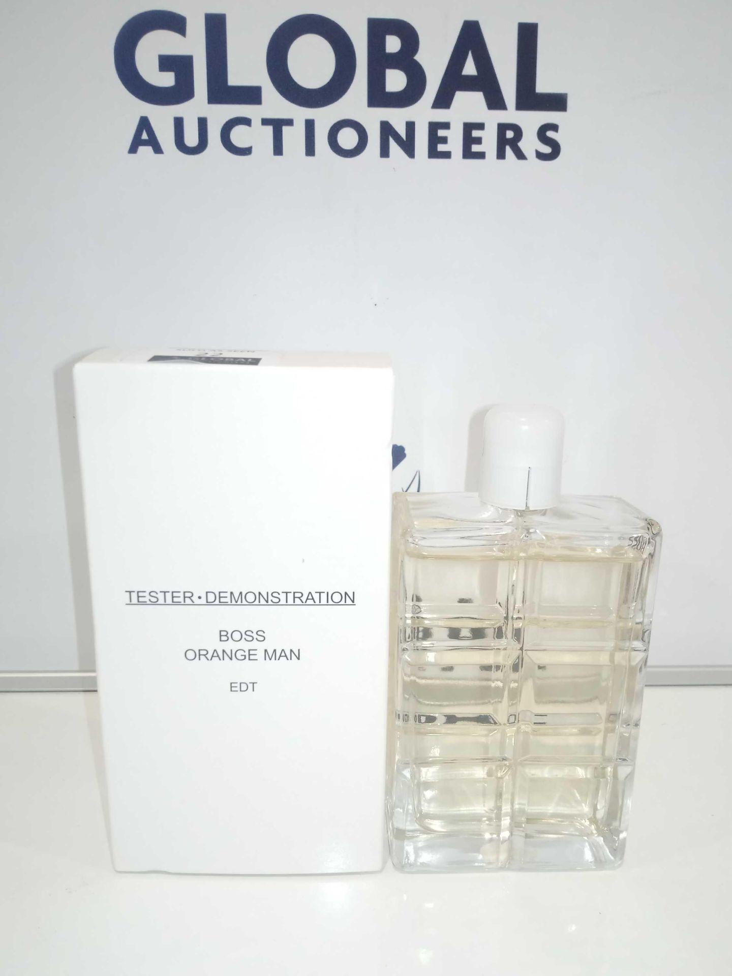 RRP £35 Boxed Brand New Full Tester Bottle Of Hugo Boss Orange Man 100Ml Eau De Toilette