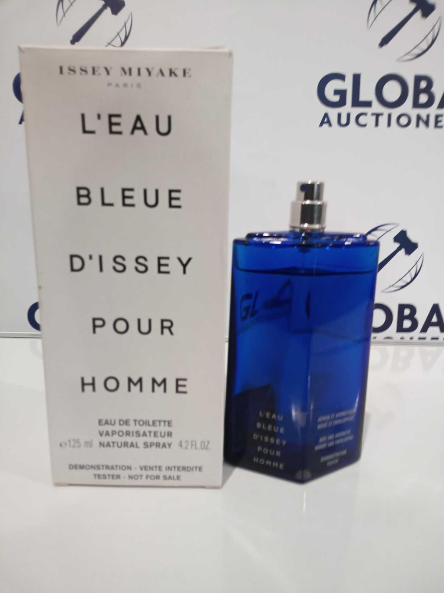 RRP £35 Boxed Brand New Full Tester Bottle Of Issue Miyake L'Eau Blue D'Issey Pour Home 125Ml Eau De