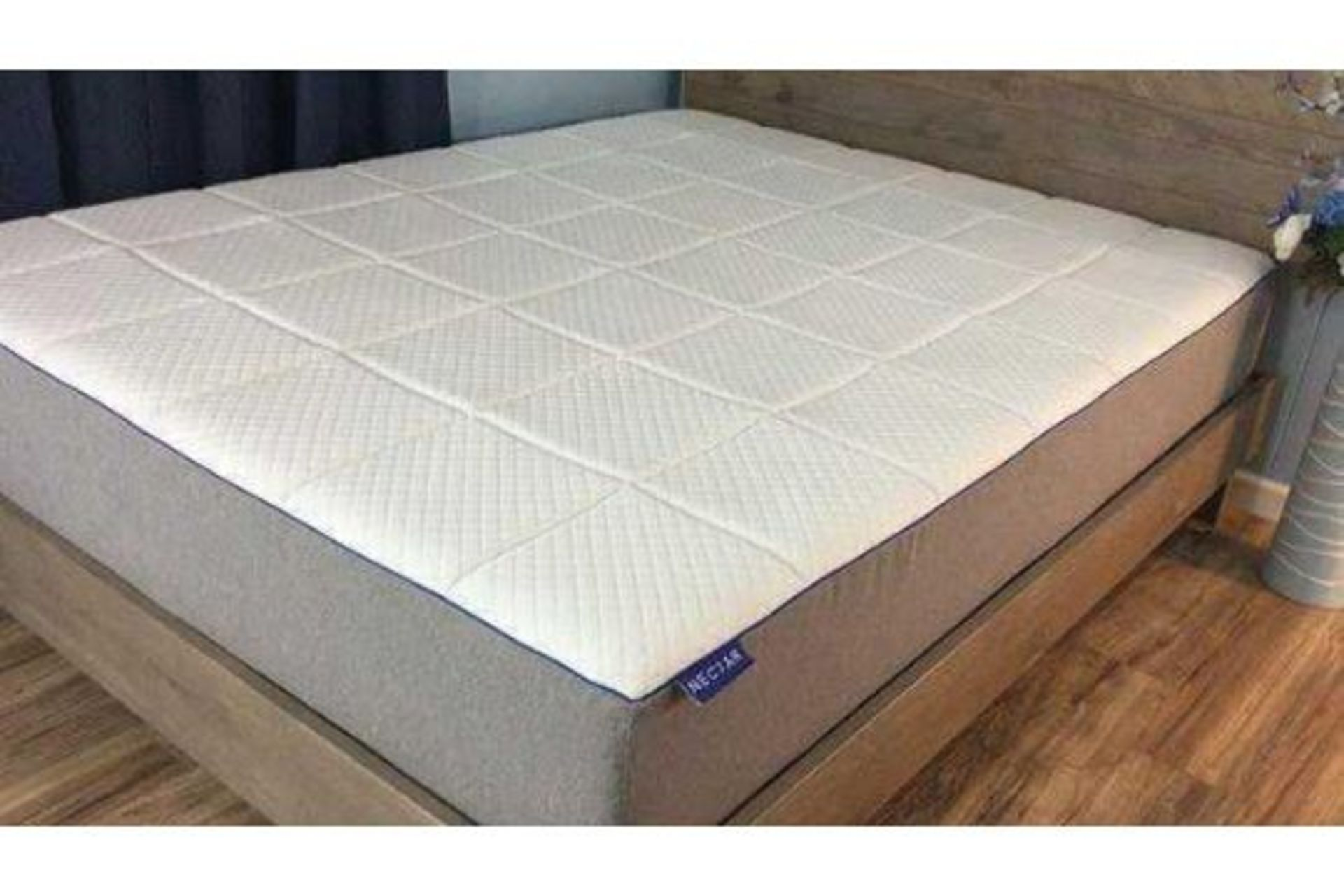 RRP £550 Bagged Nectar Double Pressure Releaving Memory Foam Mattress With 3-Layer Foam