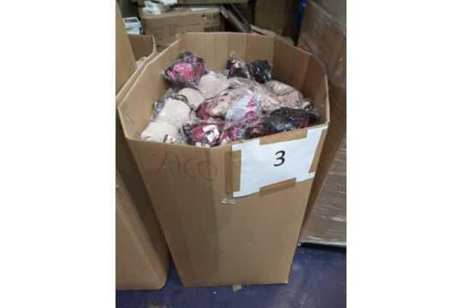 RRP Pallet To Contain 160 Assorted Brand New Packs Of 6/12 Hana Women's Bras