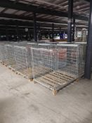 Pallet To Contain 8 Stainless Steel Pallet Stillages