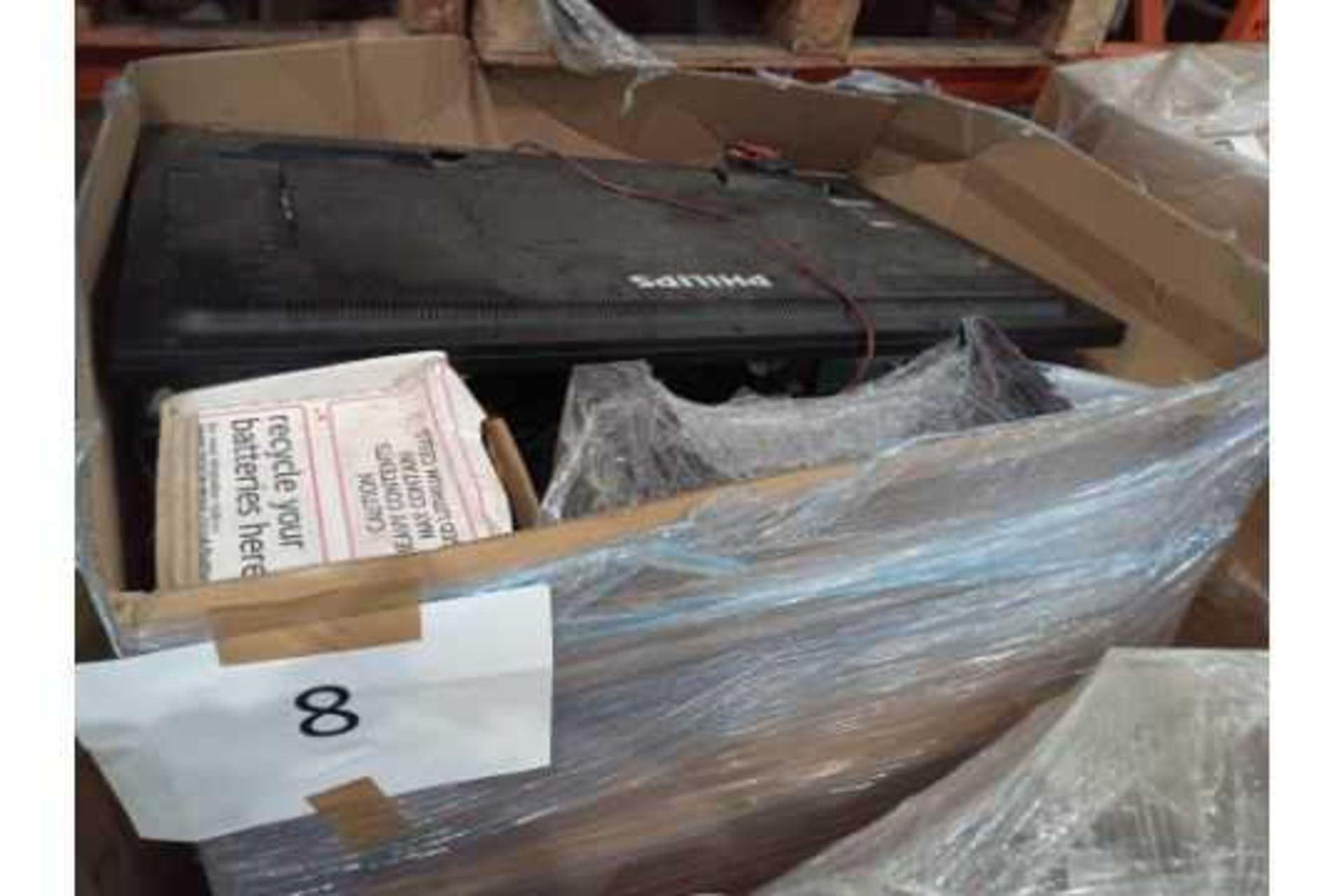 Pallet To Contain A Large Assortment Of Mixed Stock To Include Philips Tv, Batteries, Dell Screens, - Image 2 of 2