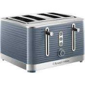 RRP £40 To £50 Each Boxed Assorted Russell Hobbs Kitchen Items To Include Legacy 4-Slice Toasters In