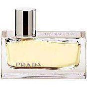 RRP £80 Unboxed 80Ml Bottle Of Prada Amber Perfume Spray Ex-Display