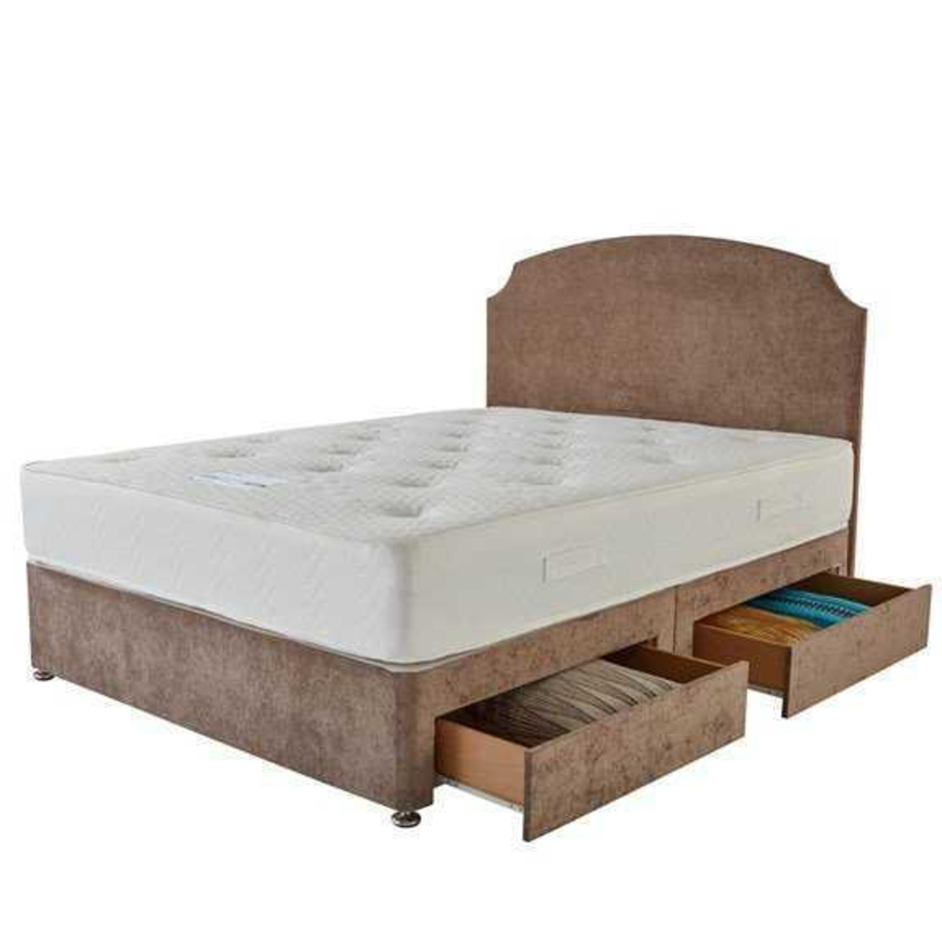 RRP £550 Ex Showroom Sleepright Modena Divan Bed