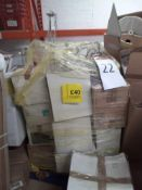 Pallet To Contain An Assortment Of Lights To Contain Shades And More