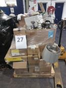 Pallet To Contain Assorted Lighting Items, Furniture And Much More