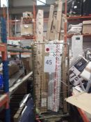 Cage To Contain Various Assorted Blinds And Roller Blinds And Accessories