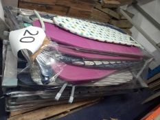 Pallet To Contain A Large Assortment Of Ironing Boards