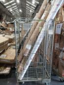 Pallet To Include A Large Assortment Of John Lewis Blinds, Roller Blinds And Cornice