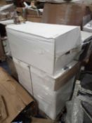 Pallet To Contain 7 Boxed And Unboxed John Lewis Assorted Pedal Push Bins