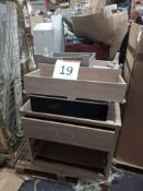 Pallet To Contain Assorted Furniture To Infuse Chest Of Drawers, Tv Unit And More
