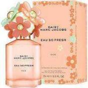 RRP £70 Unboxed 75 Ml Bottle Of Marc Jacobs Daisy Eau So Fresh Daze Edt Spray Ex-Display