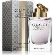RRP £80 Unboxed 90 Ml Bottle Of Gucci Made To Measure Edt Spray Ex Display