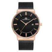 RRP £450 BOXED laddies Henry Bridges Clifton Rose Watch With Alloy Strap