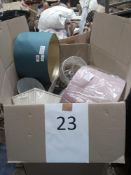 Pallet To Contain Assorted Lampshades In Varies Designs, Sizes And Colours From John Lewis