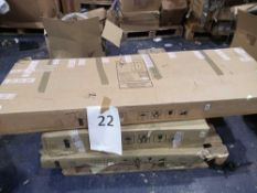 Pallet To Contain Assorted John Lewis Flat Pack Furniture In Part Lots.