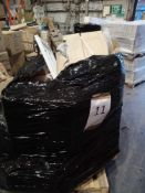Pallet To Contain Various Assorted Flat Pack Furniture In Part Lots