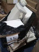 Pallet To Contain Assorted Household Items Including John Lewis Bin, Debenhams Lighting And More.