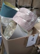 Pallet To Contain Assorted Household Lights And Shades