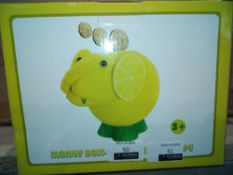 RRP £120 Lot To Contain 24 Brand New Boxed Lemon Sheep Monkey Banks
