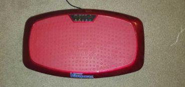 RRP £100 Unboxed Vibrapower Slim 2 Power Vibration Plate Trainer