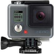 RRP £150 Boxed Gopro Hero 1080P Waterproof Camera With Accessory Bundle