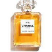 RRP £115 Unboxed Full 100Ml Bottle Of Chanel Paris Number 5 Perfume Spray Ex Display