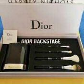 RRP £150 Brand New Boxed Christian Dior Backstage Makeup Brush Set