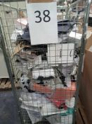 Cage To Contain An Assortment Of Designer Gift Bags Including Brands Such As Chanel, Dior And More